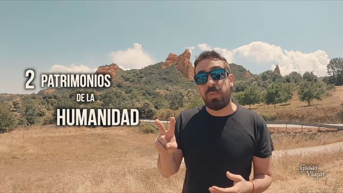 El conocido Blog 'Guías Viajar' dedica un vídeo a Las Médulas en el que muestra el paraje Patrimonio de la Humanidad y otros bellos puntos de la comarca 1