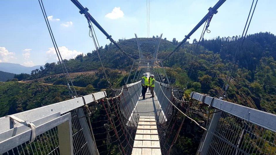 516 Arouca. El puente colgante más alto del mundo, a punto de abrir en el norte de Portugal 3