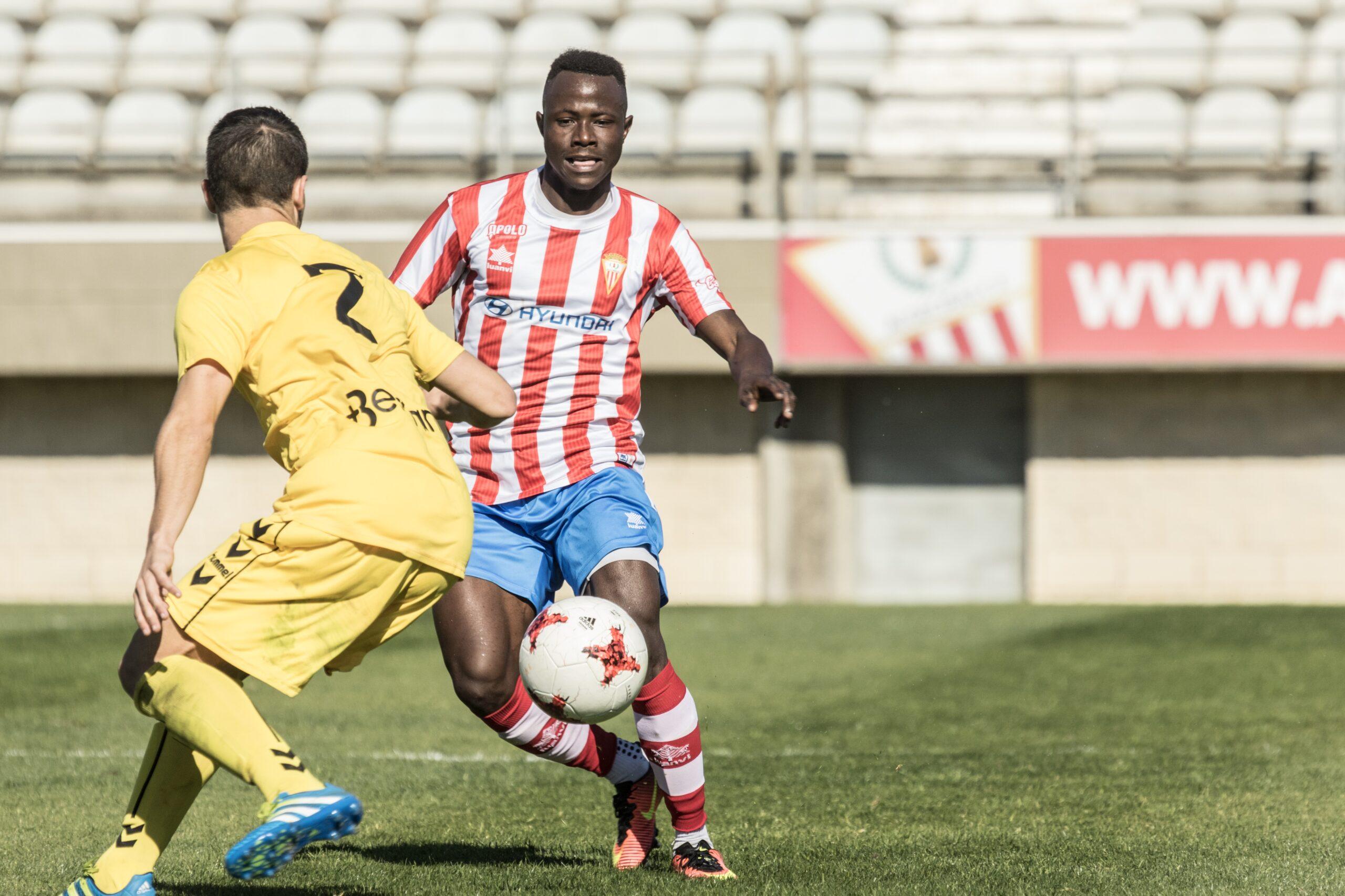 Moussa Sidibé, nuevo jugador de la SD Ponferradina 1