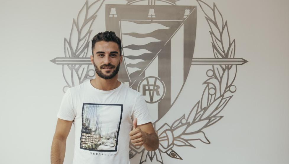 Carlos Doncel nuevo futbolista blanquiazul tras un acuerdo con el Real Valladolid 1