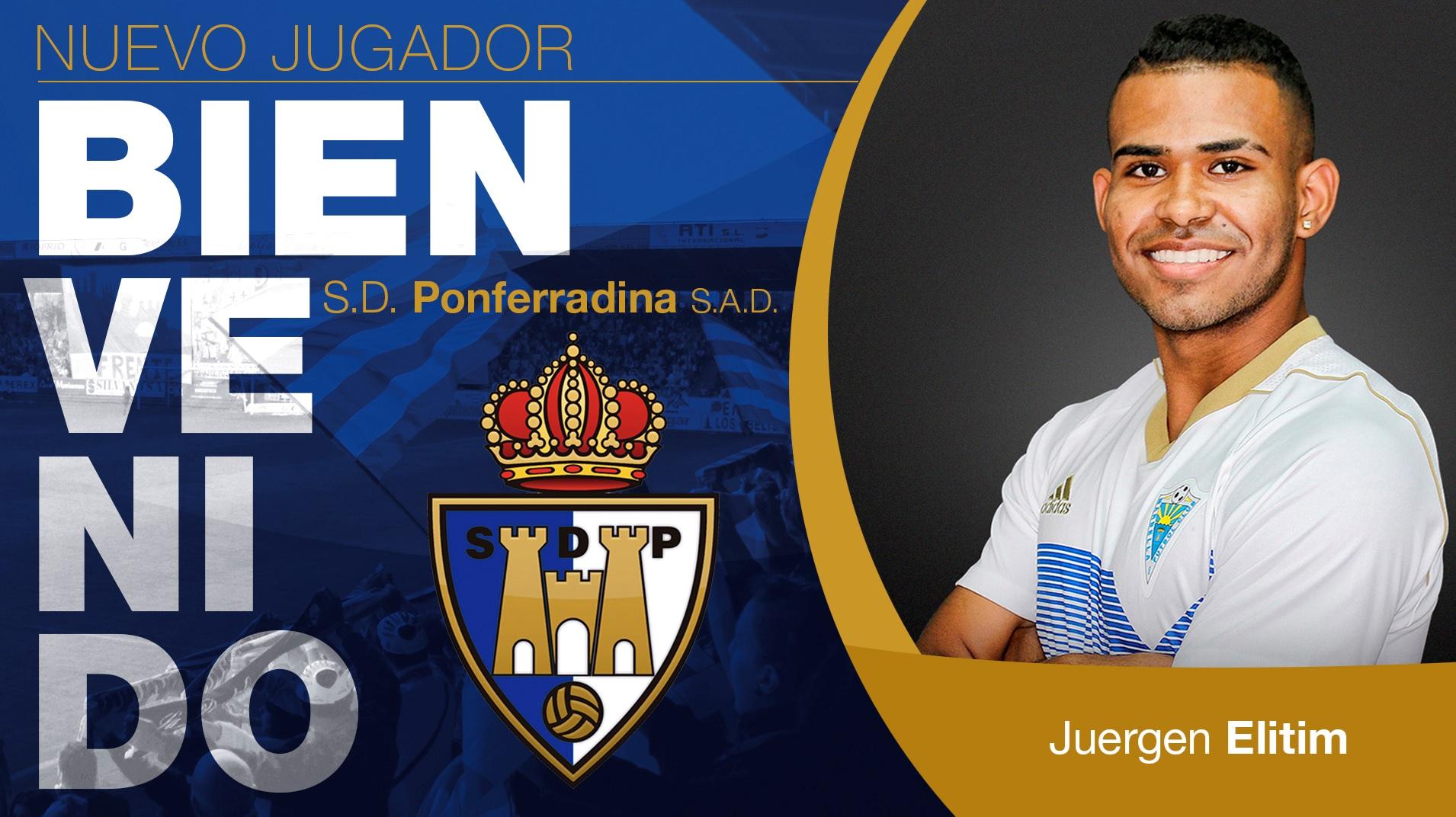 El futbolista colombiano Juergen Elitim se incorpora a la SD Ponferradina 1