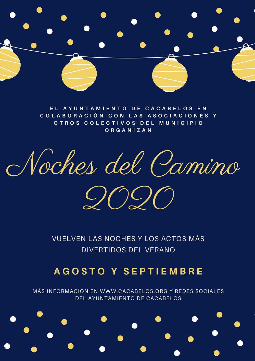 Cacabelos celebra las noches del Camino 2020 que incluyen cine, charlas o exposiciones a lo largo de agosto y septiembre 2
