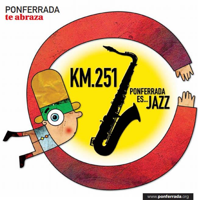 El festival 'KM.251 Ponferrada es Jazz' llega a la su quinta edición 2