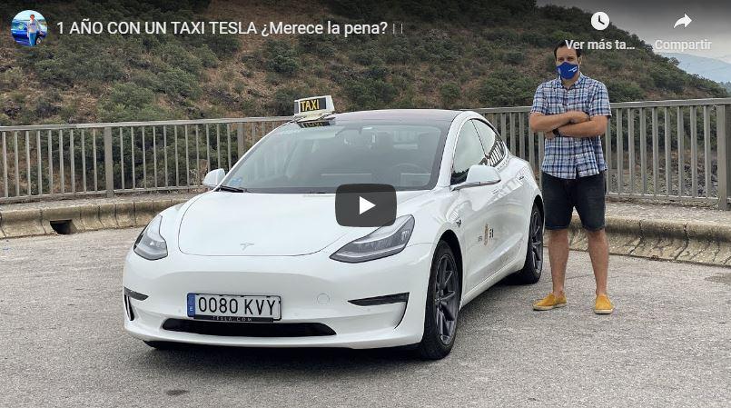 El taxista ponferradino Álvaro Cubero valora su primer año conduciendo un Tesla Model 3 electrico ¿Realmente vale la pena? 1