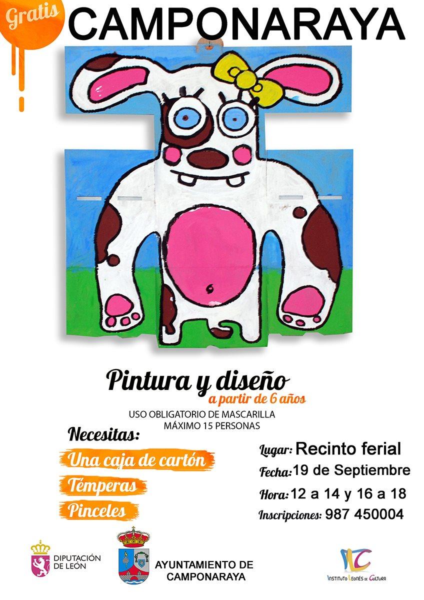 El Ayuntamiento de Camponaraya organiza un taller de pintura y diseño en el recinto ferial 2