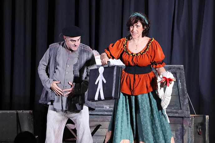 El municipal de Cubillos del Sil presenta el sábado la obra 'Sancho en Barataria' en el teatro municipal 1