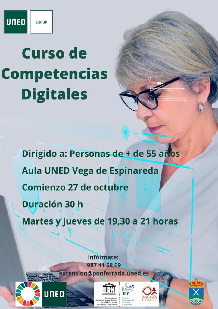 Curso de competencias digitales en Vega de Espinareda 1