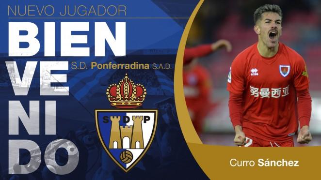 Curro Sánchez, nuevo jugador de la SD Ponferradina 2