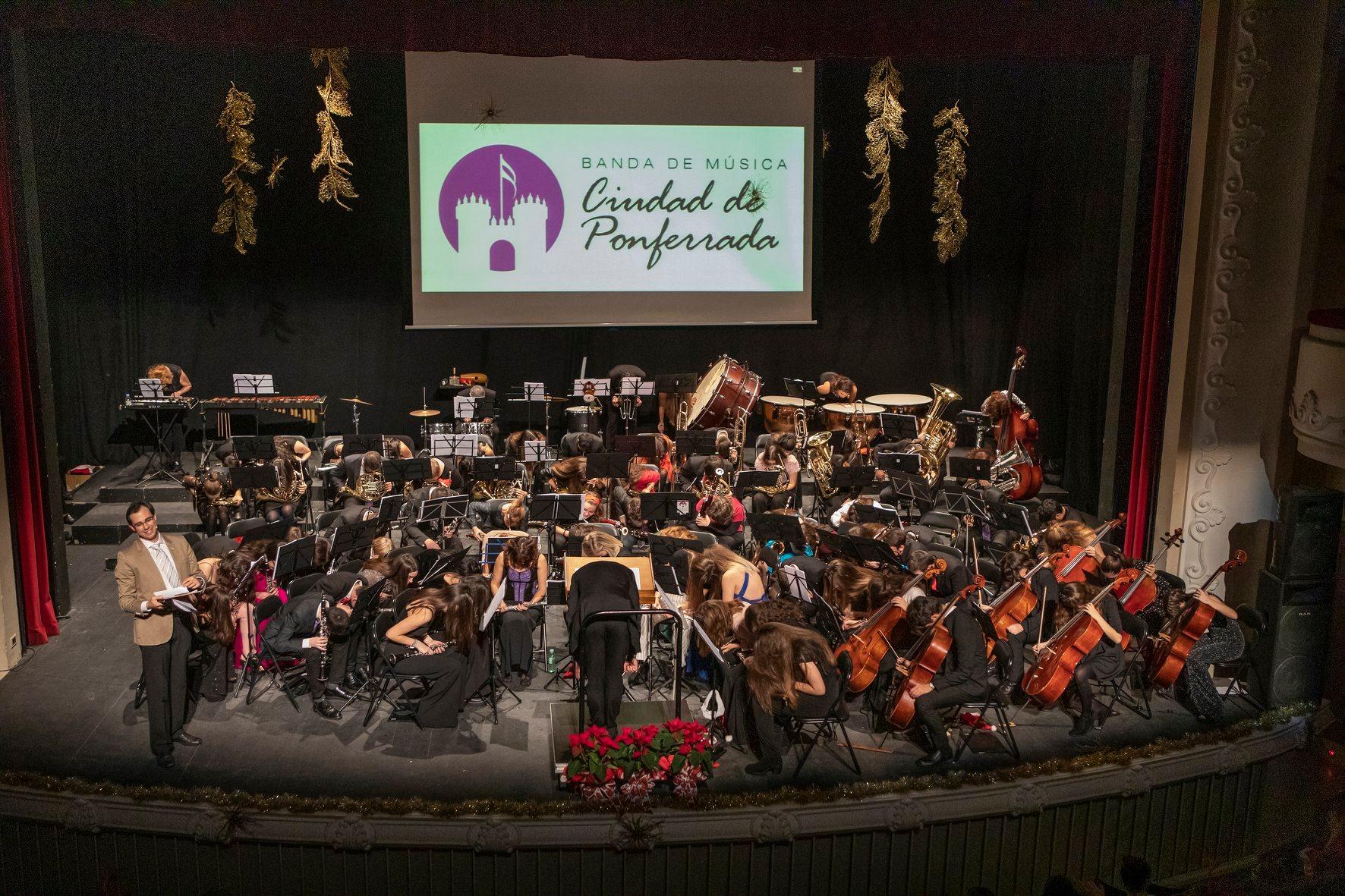 La Banda de Música Ciudad de Ponferrada cerrará el verano con 'Una banda de Película' en el Auditorio Municipal 1