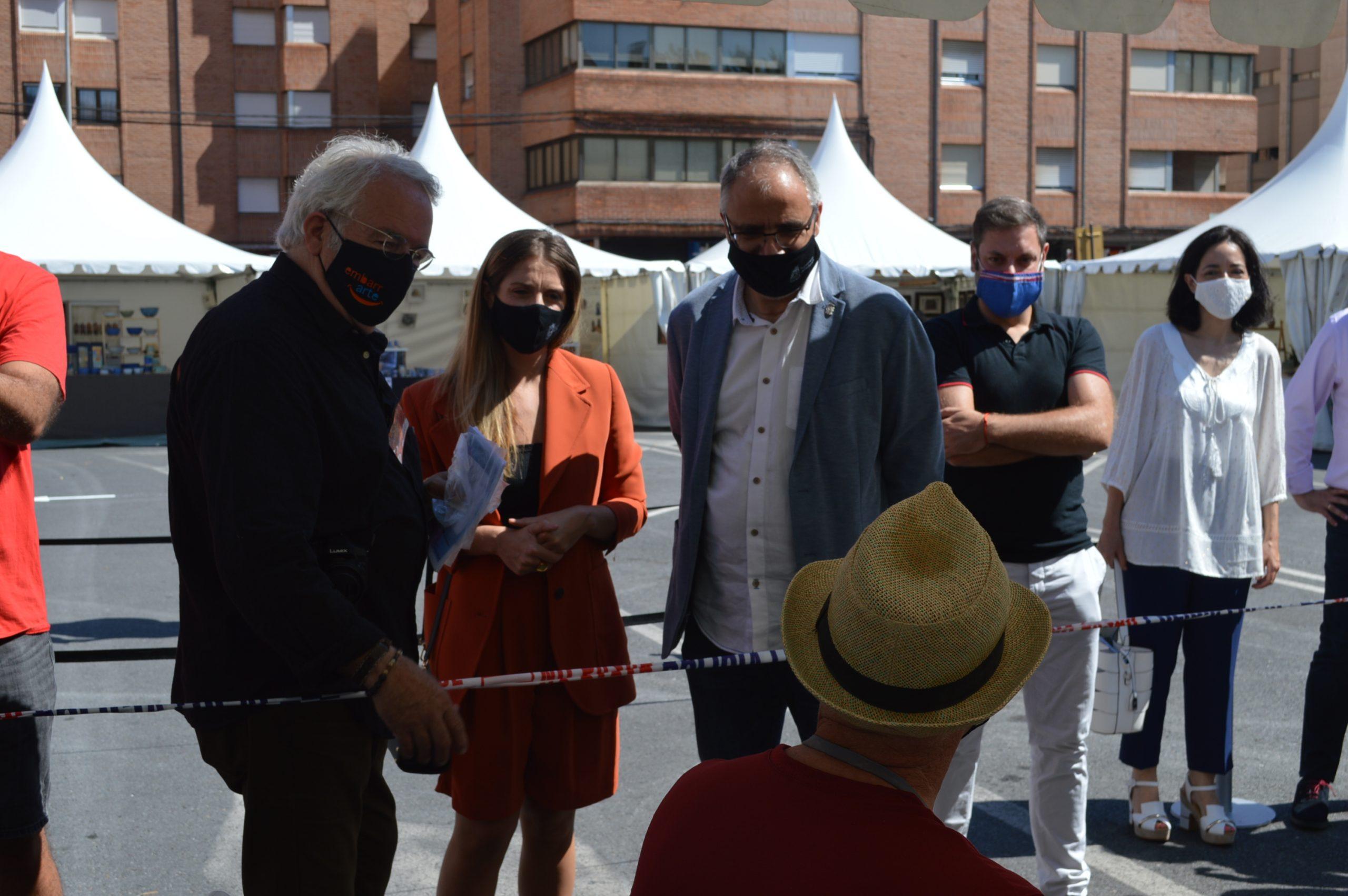 Inaugurada la 39 edición de la Feria de la Cerámica y Embarrarte 16