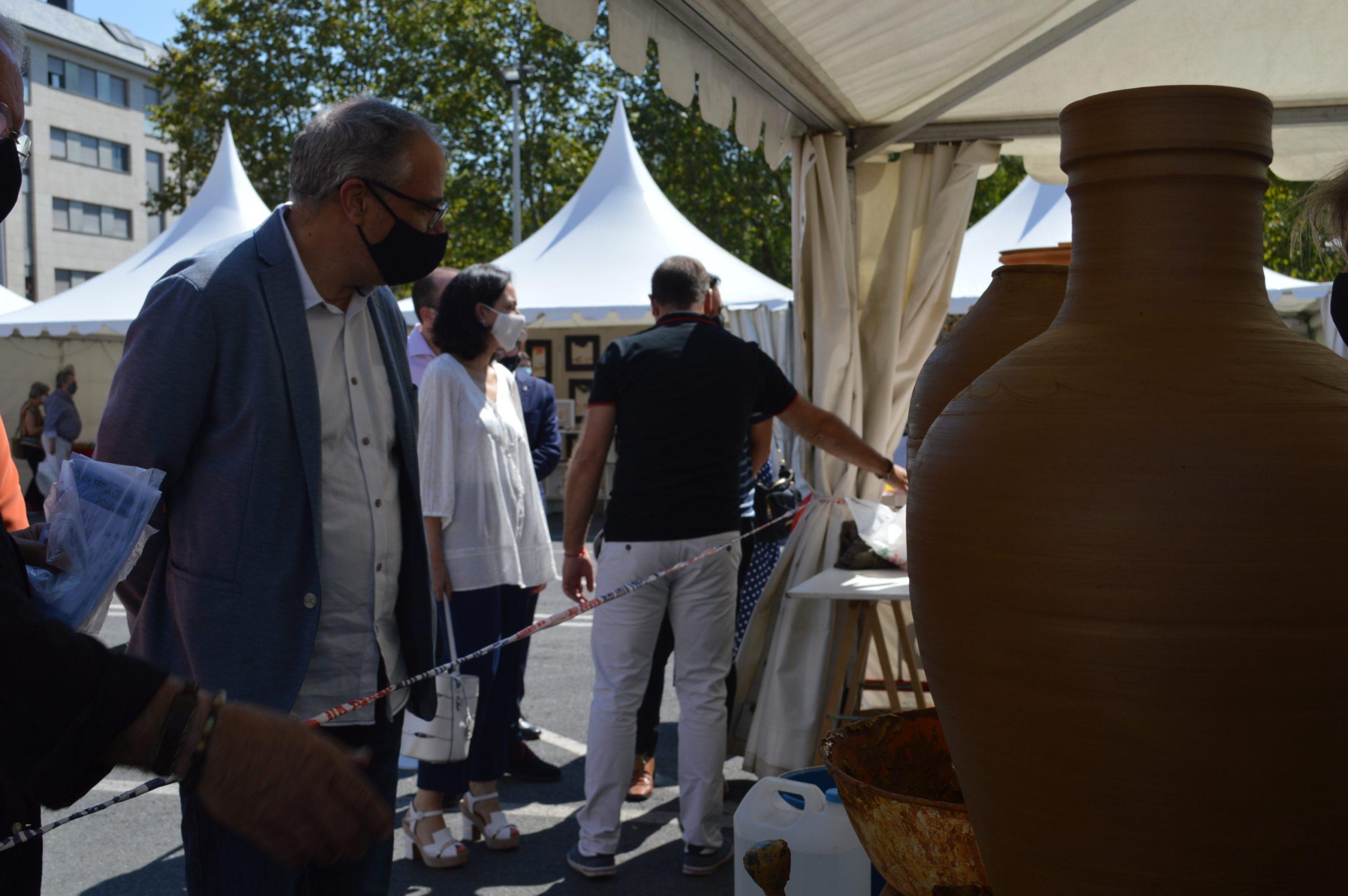 Inaugurada la 39 edición de la Feria de la Cerámica y Embarrarte 18