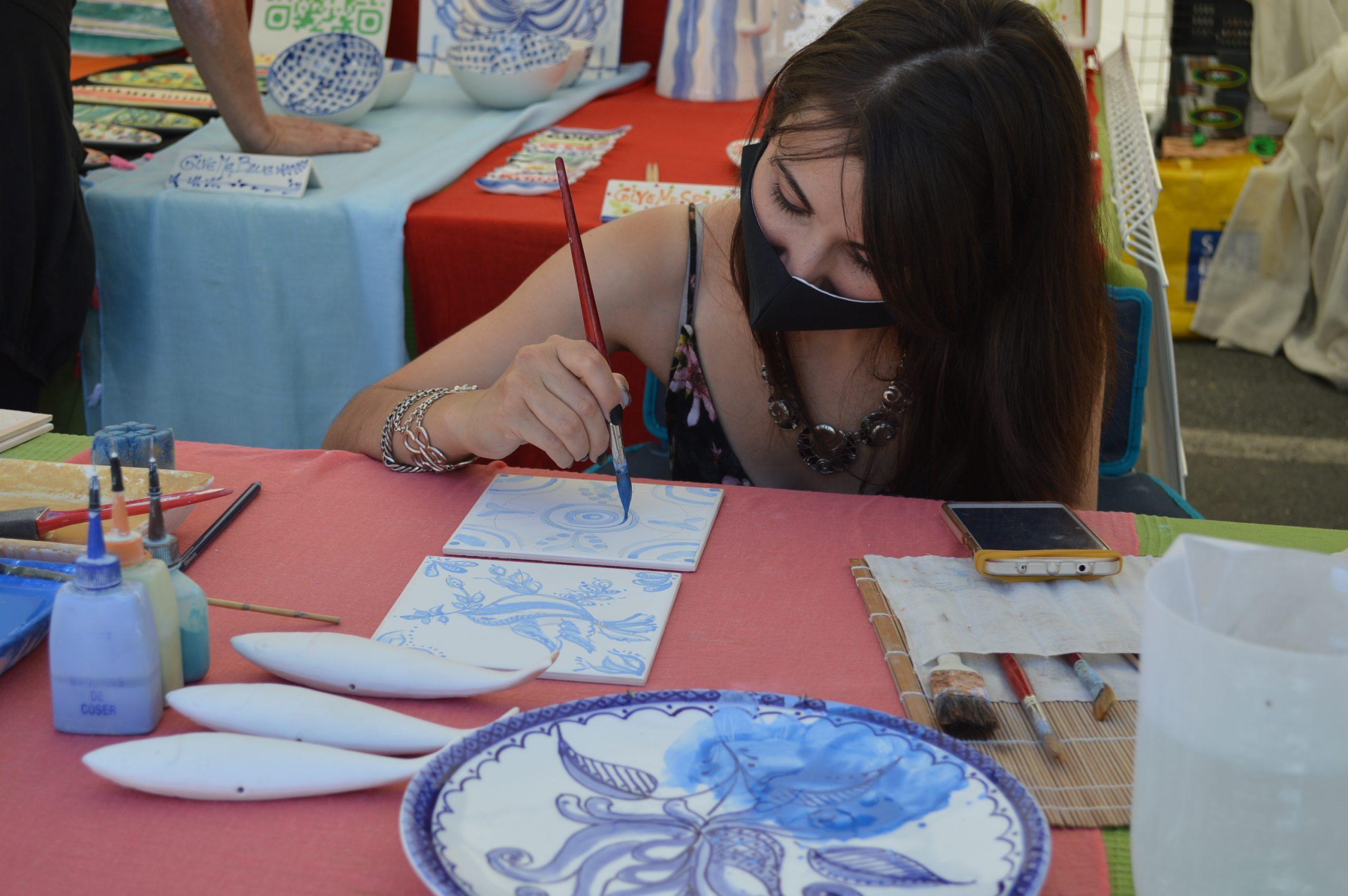 Inaugurada la 39 edición de la Feria de la Cerámica y Embarrarte 1