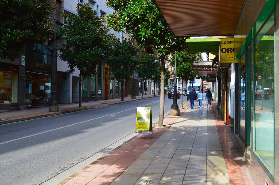 La Asociación de Amigos de la Avenida de la Puebla critica la nula iluminación de la calle 1