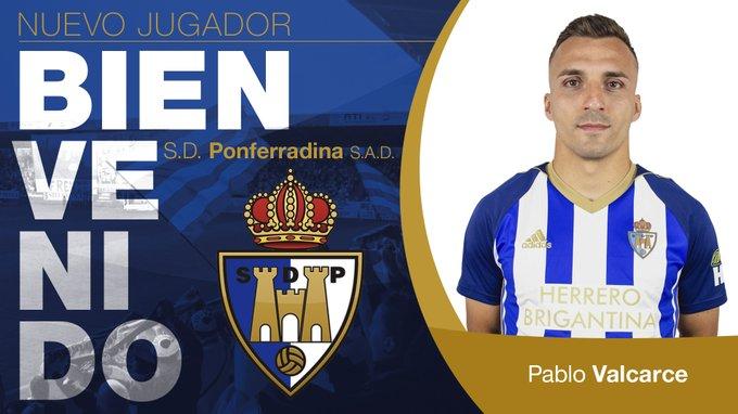 Pablo Valcarce regresa a la SD Ponferradina 1