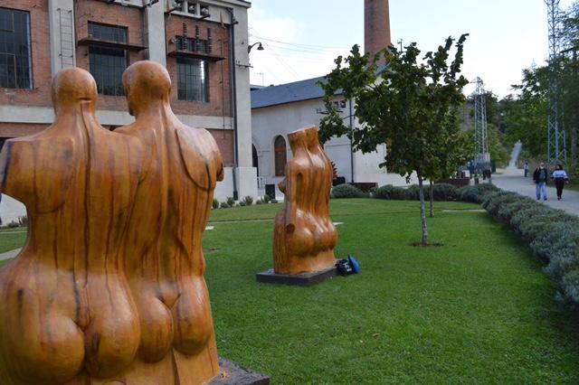 Arte para disfrutar 'en la calle' en los jardines del Museo de la Energía 1
