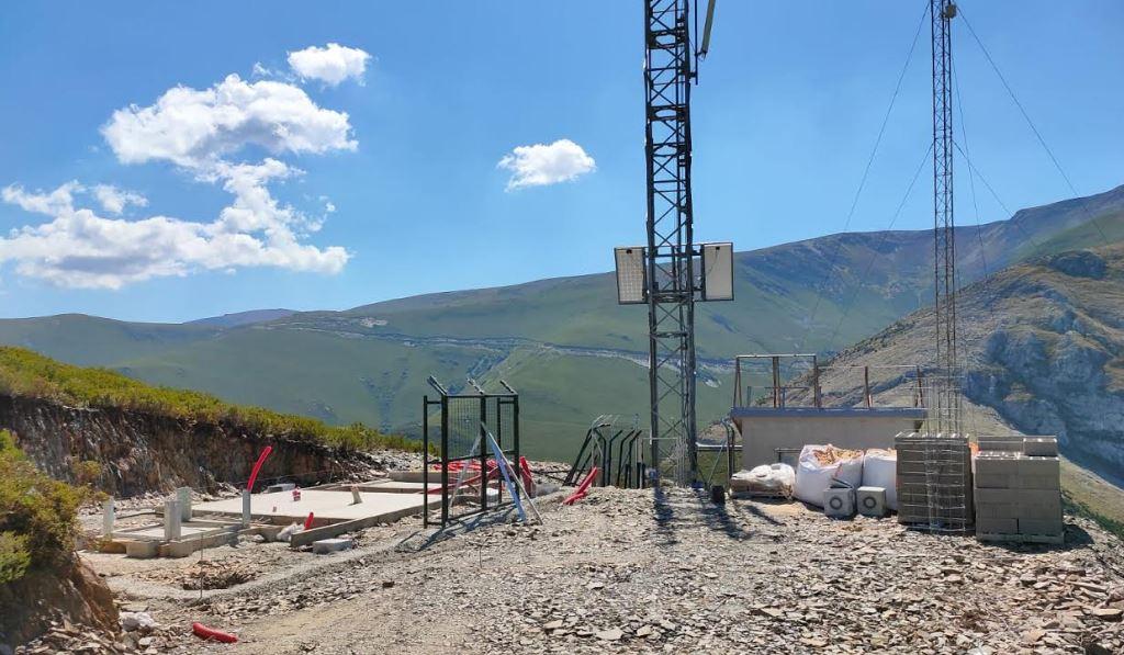 Comienza la instalación de la antena  de telefonía móvil para dar servicio a Peñalba y a otras localidades de la Tebaida 1