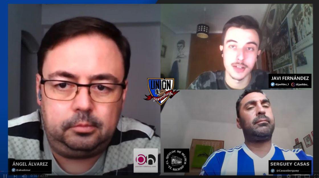 Vuelve el fútbol: La Deportiva a examen en la nueva vídeo tertulia El Carajillo de Unión Deportivista 1