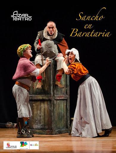 El municipal de Cubillos del Sil presenta el sábado la obra 'Sancho en Barataria' en el teatro municipal 2