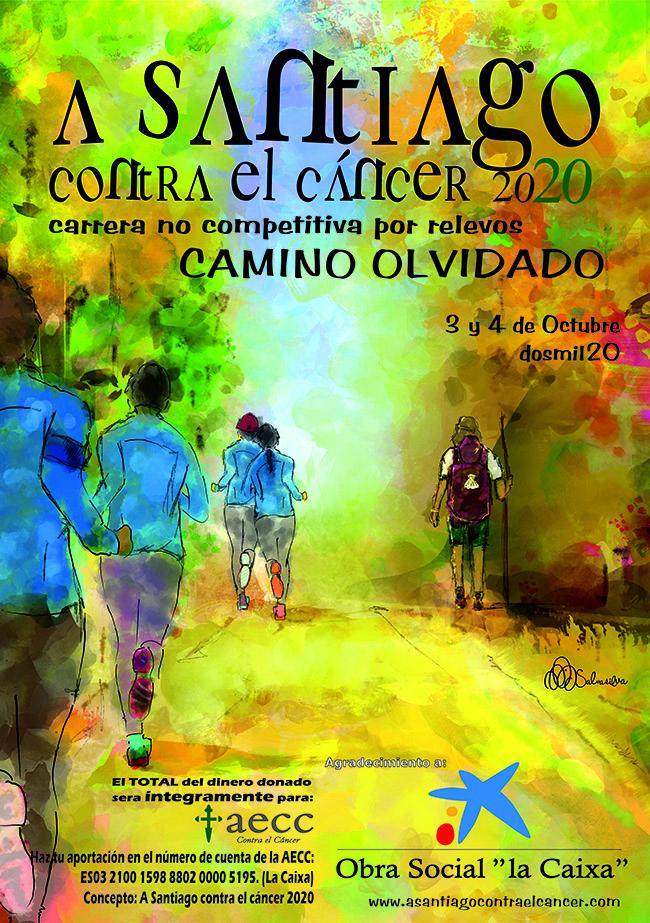 'A santiago contra el cáncer' realiza este fin de semana dos etapas del camino olvidado para recaudar dinero contra el Cáncer 2