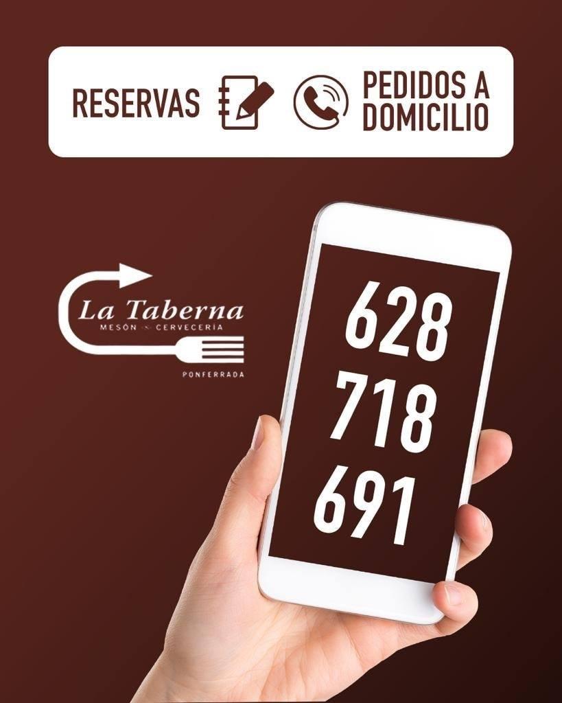 Los Restaurantes La Violeta y La Taberna servirán cenas desde las 20 horas durante el confinamiento perimetral de Ponferrada 3