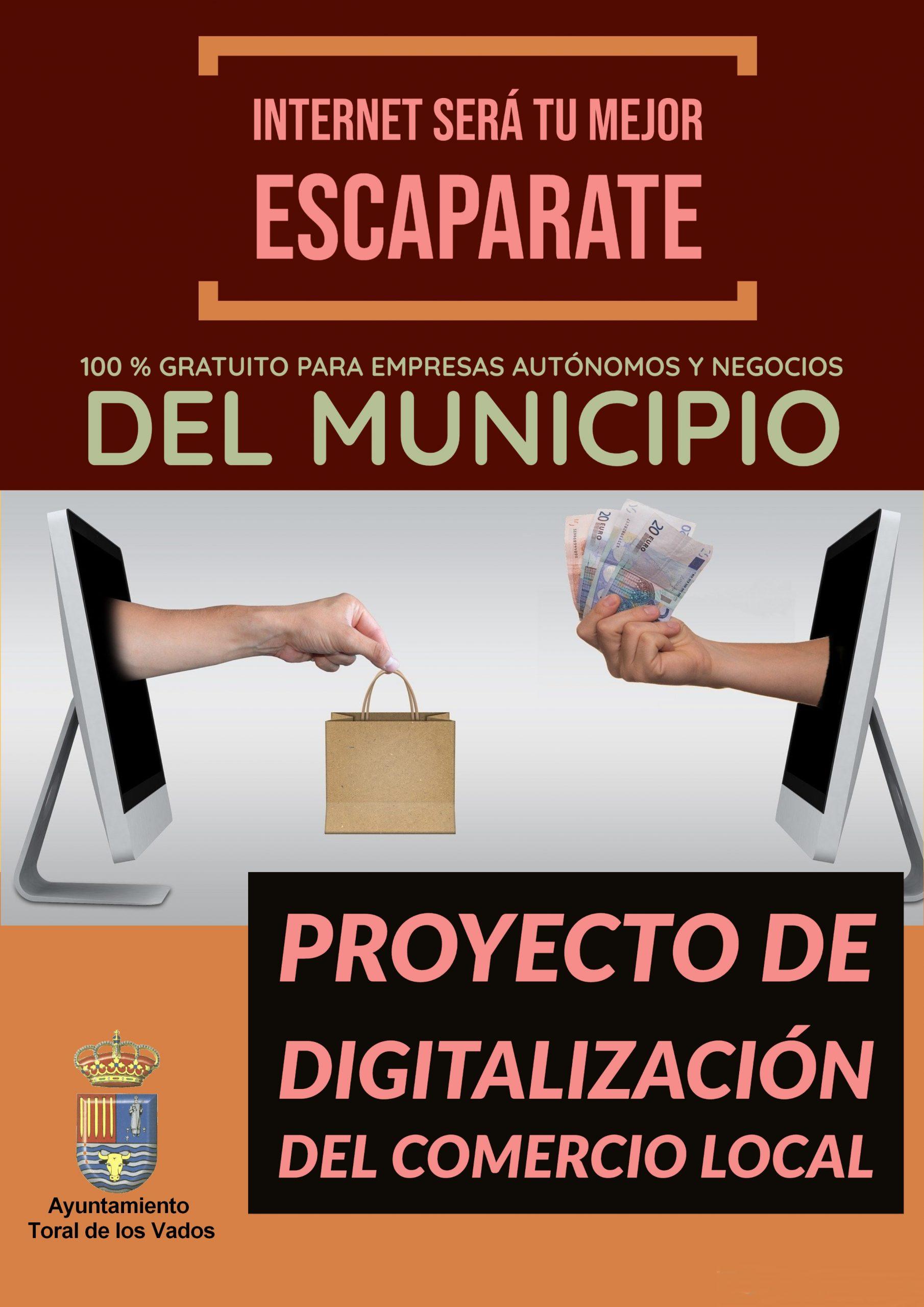 Toral de los Vados lanza una iniciativa para digitalizar el comercio y la hostelería de la localidad a través de una web 2