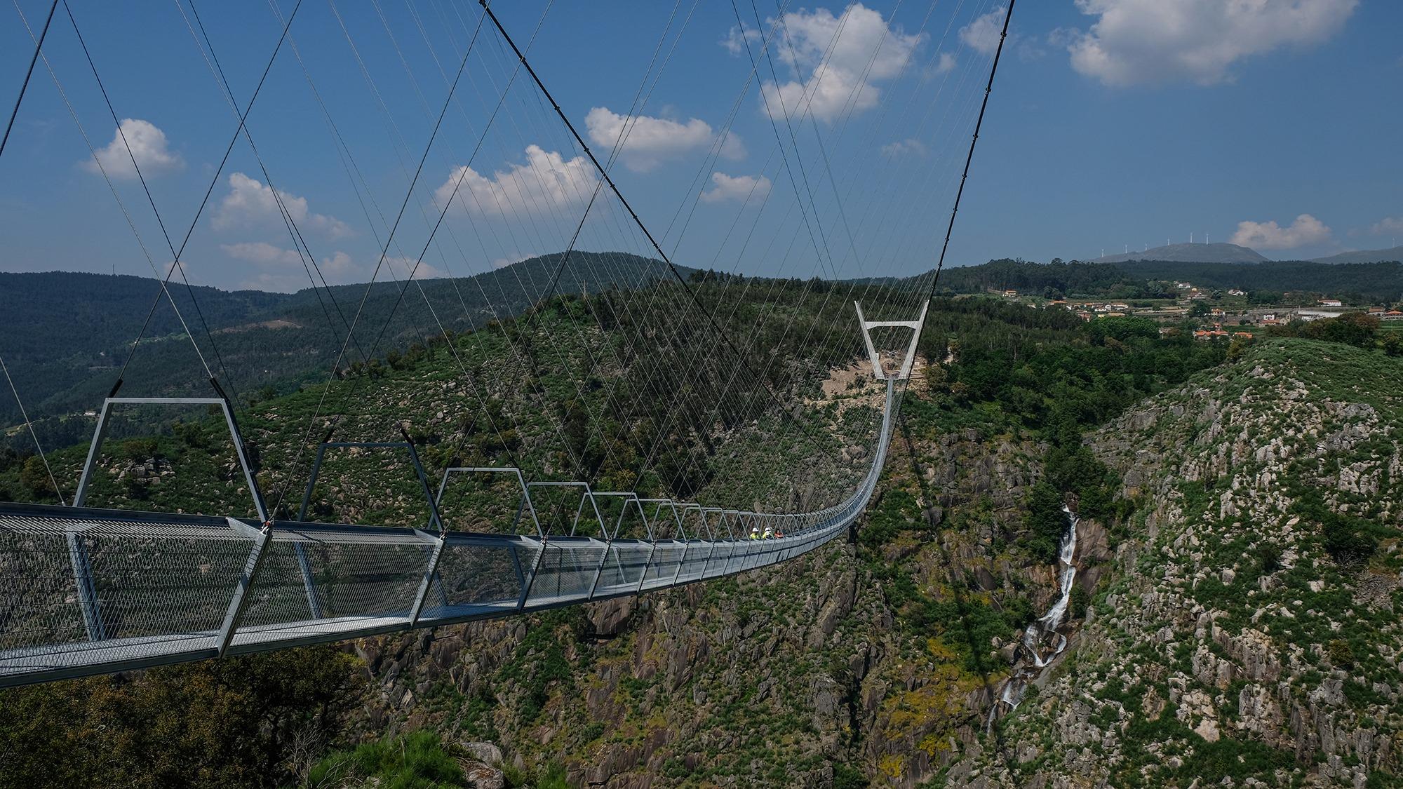 516 Arouca. El puente colgante más alto del mundo, a punto de abrir en el norte de Portugal 1