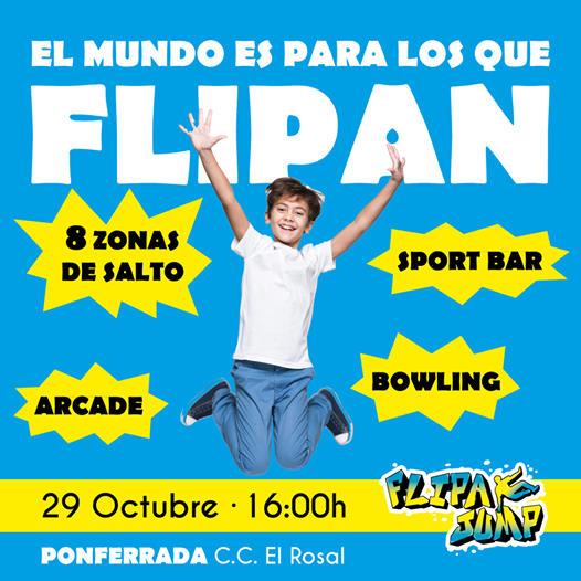 El parque de diversiones 'FlipaJump' abrirá sus puertas el jueves 29 de octubre en El Rosal 2
