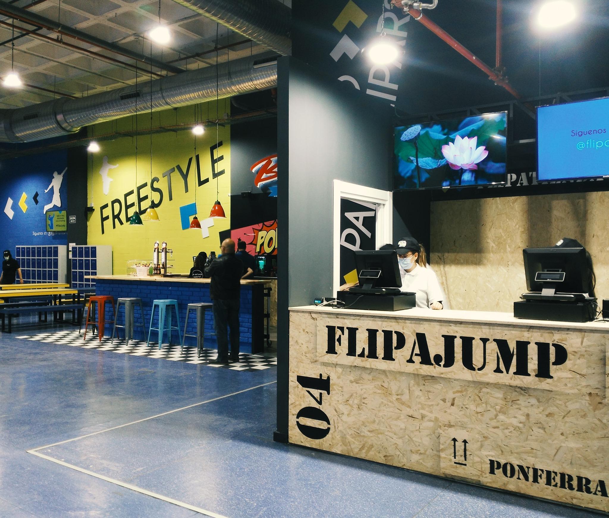FlipaJump abre sus puertas en el Centro Comercial El Rosal 4