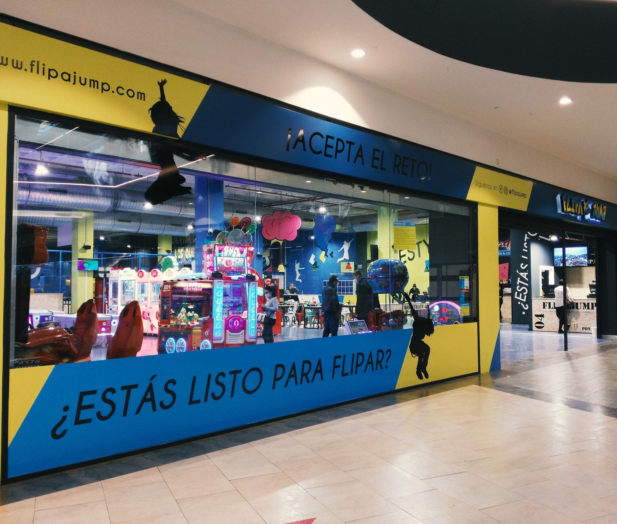 FlipaJump abre sus puertas en el Centro Comercial El Rosal 1