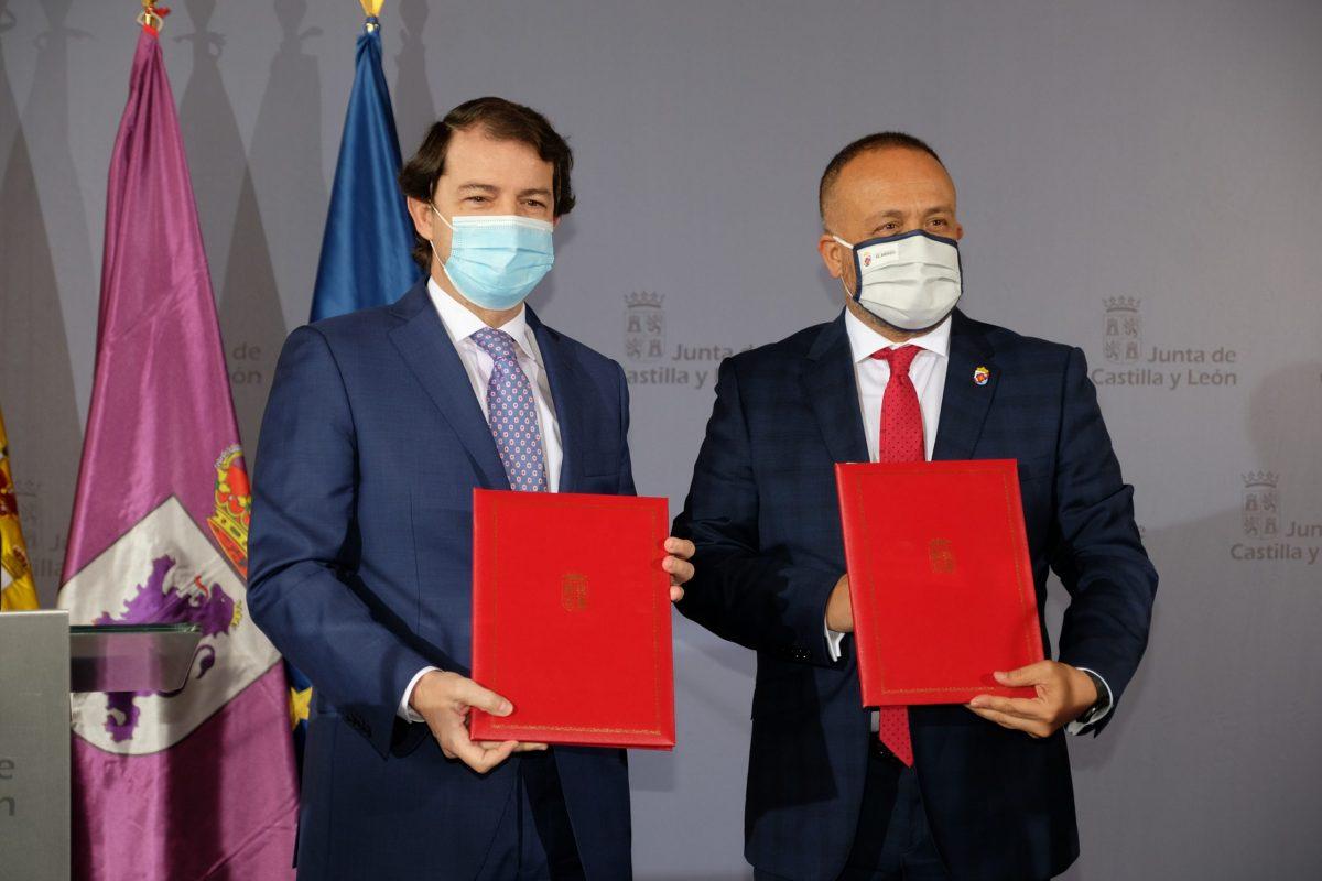 La Junta y Consejo Comarcal de El Bierzo firman su tercer convenio de colaboración 1