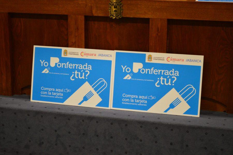 EL Ayuntamiento de Ponferrada pondrá en la calle 2.200 tarjetas para incentivar el comercio y la hostelería de la ciudad 3