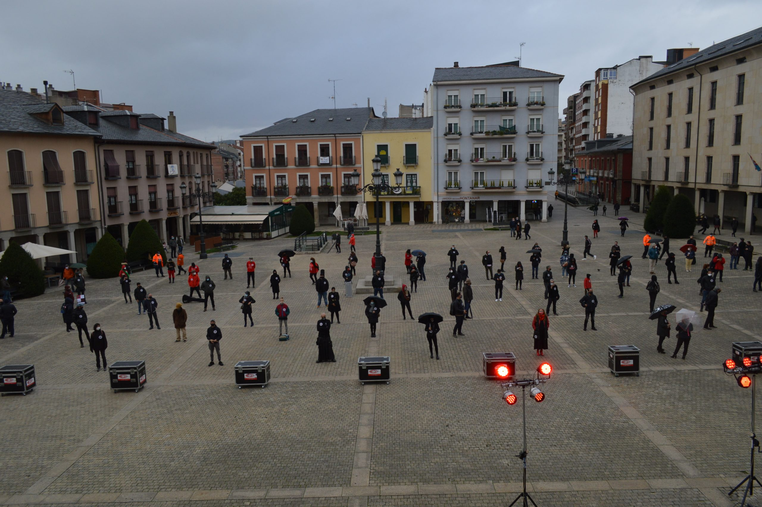 VÍDEO #Alertarojabierzo reivindica los derechos de la cultura y los eventos 21