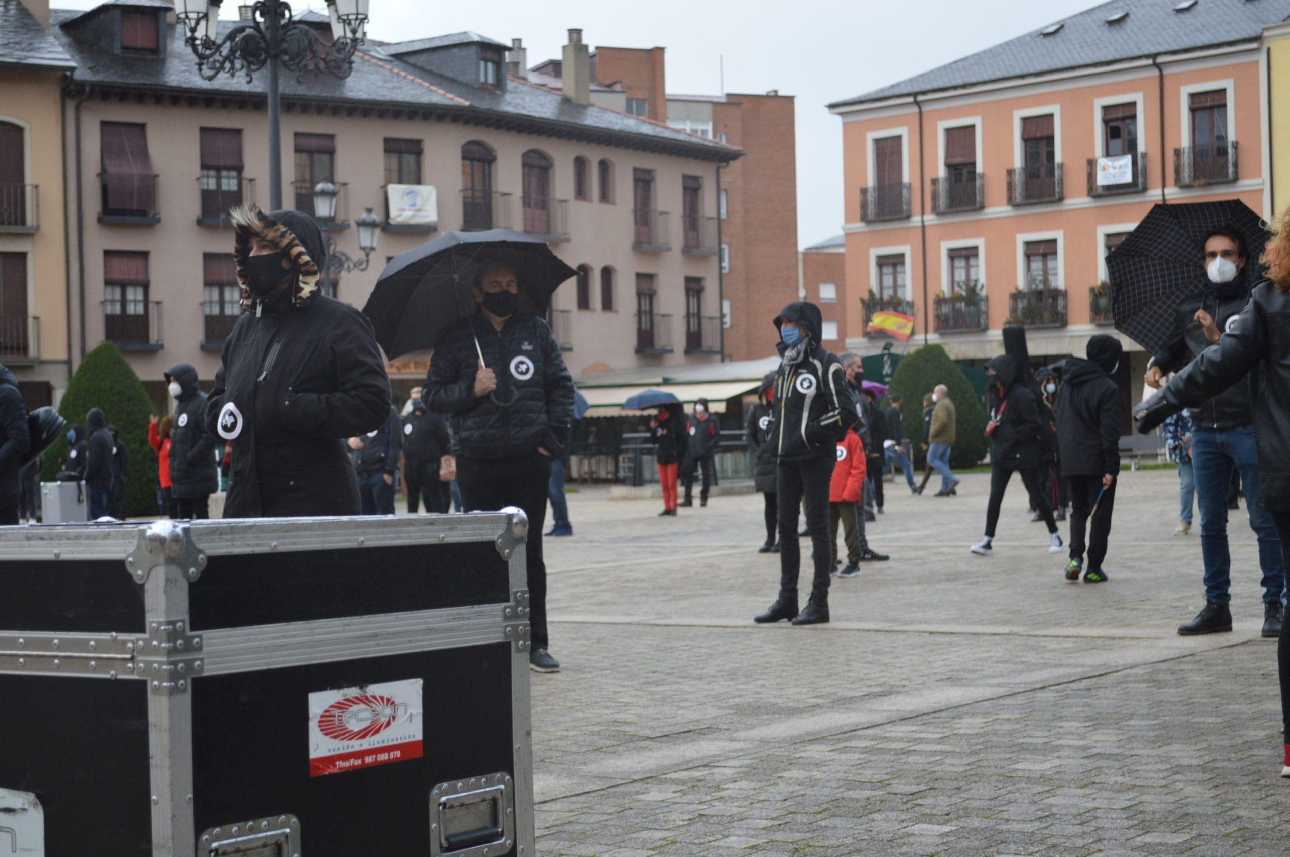 VÍDEO #Alertarojabierzo reivindica los derechos de la cultura y los eventos 18