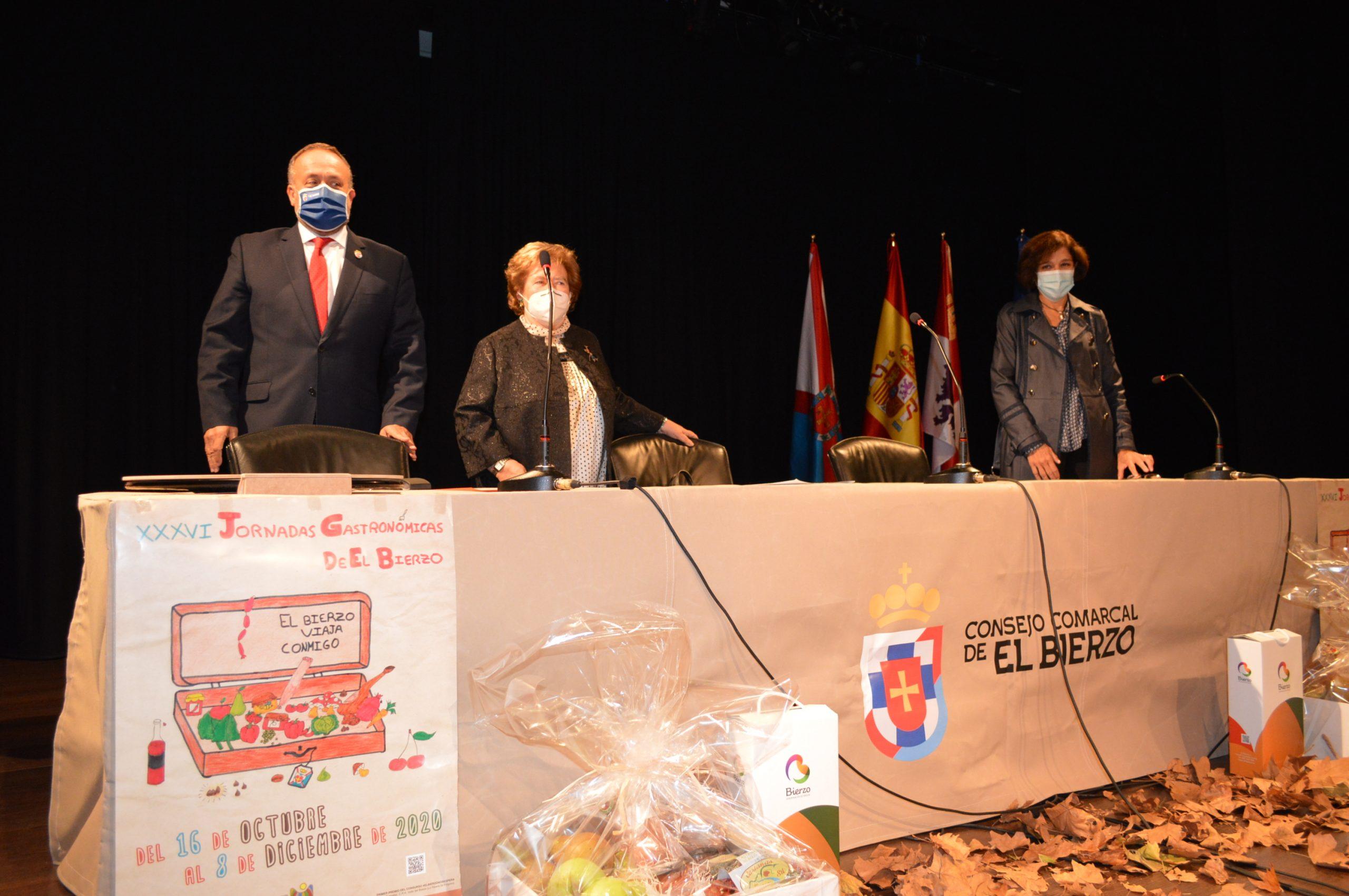 Arrancan las Jornadas Gastronómicas de El Bierzo con el pregón de su mantenedora Yolanda Ordás 2