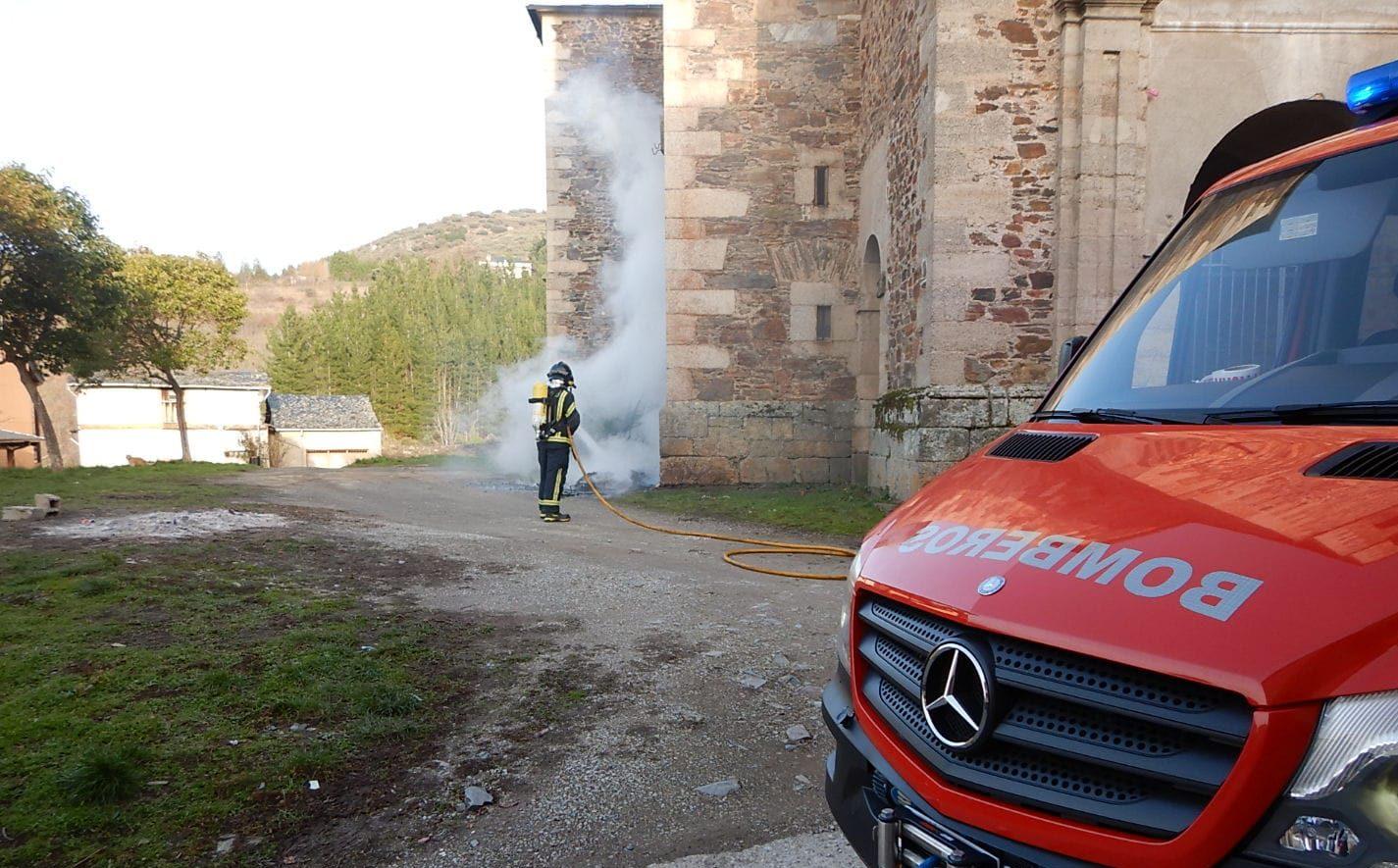 Ponferrada propone a la Diputación un convenio transitorio sobre el parque de bomberos que asciende a 650.000 euros 1