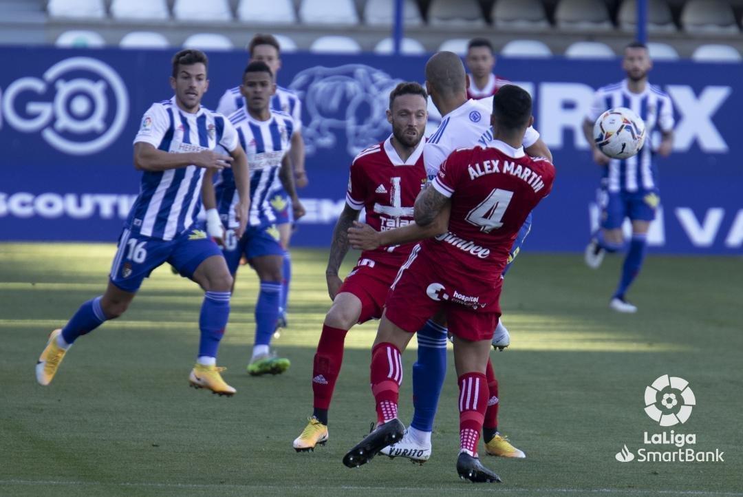 La Ponferradina no se adapta a las ausencias y lo paga en el resultado ante un sólido Cartagena (2-0) 1