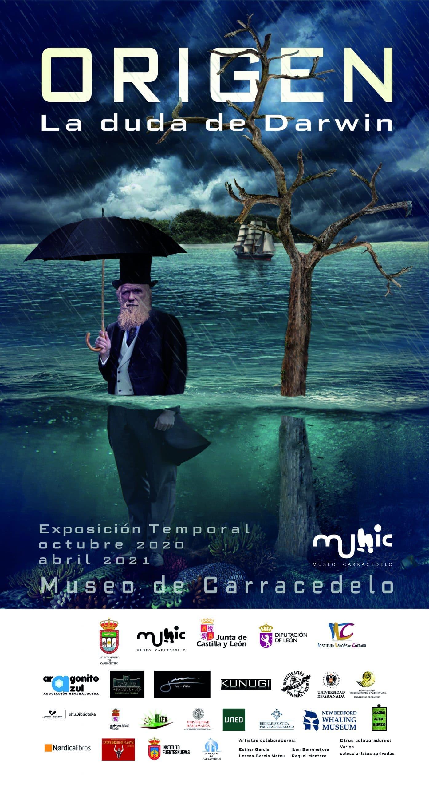 Reabre las puertas el MUNIC Museo de Carracedelo con la exposición ORIGEN. LA DUDA DE DARWIN 1