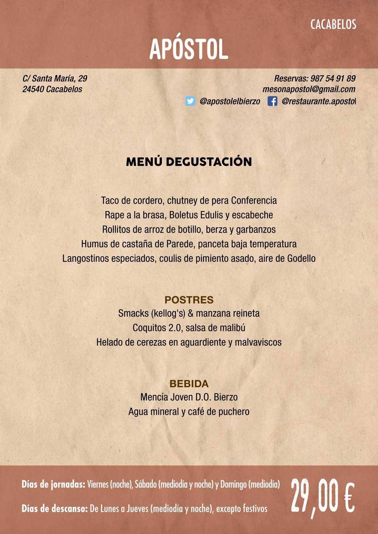 XXXVI Jornadas Gastronómicas De El Bierzo 2020. Consulta los restaurantes y menús 3