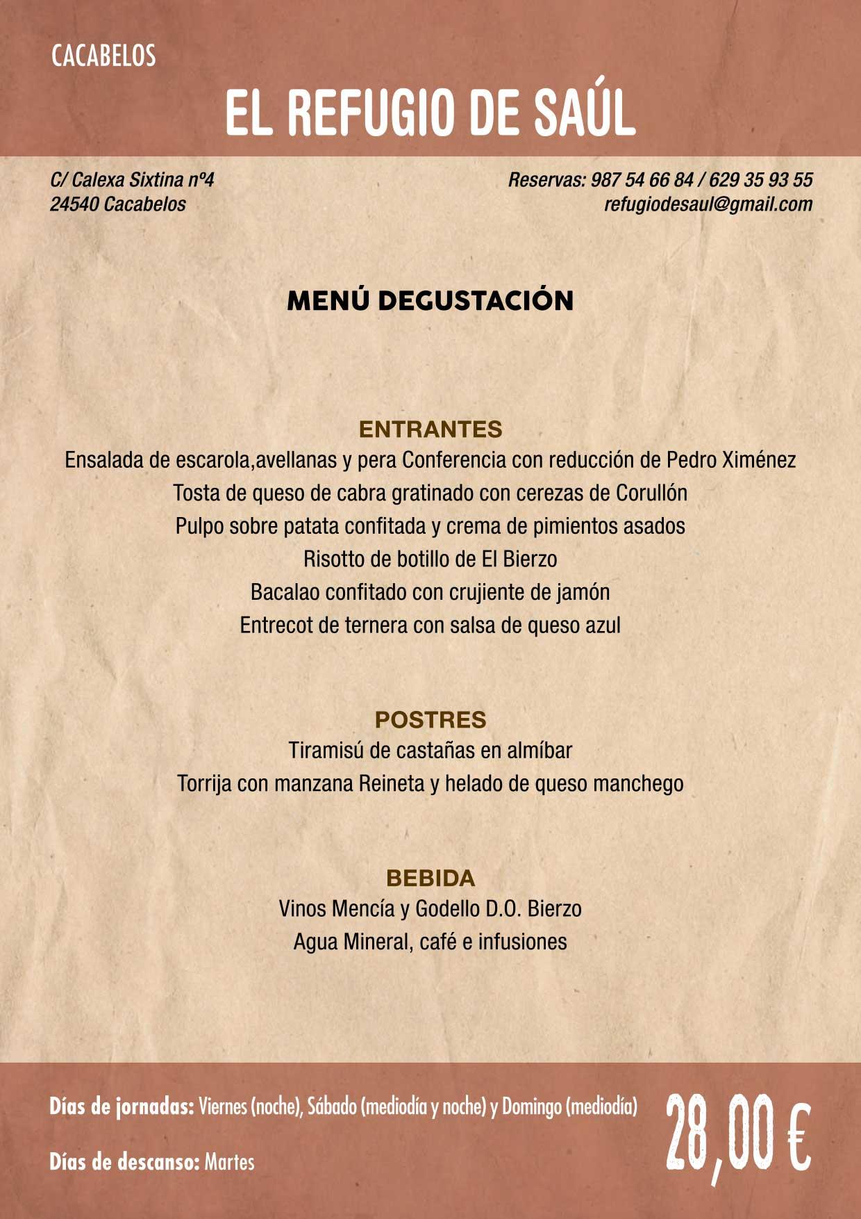 XXXVI Jornadas Gastronómicas De El Bierzo 2020. Consulta los restaurantes y menús 4