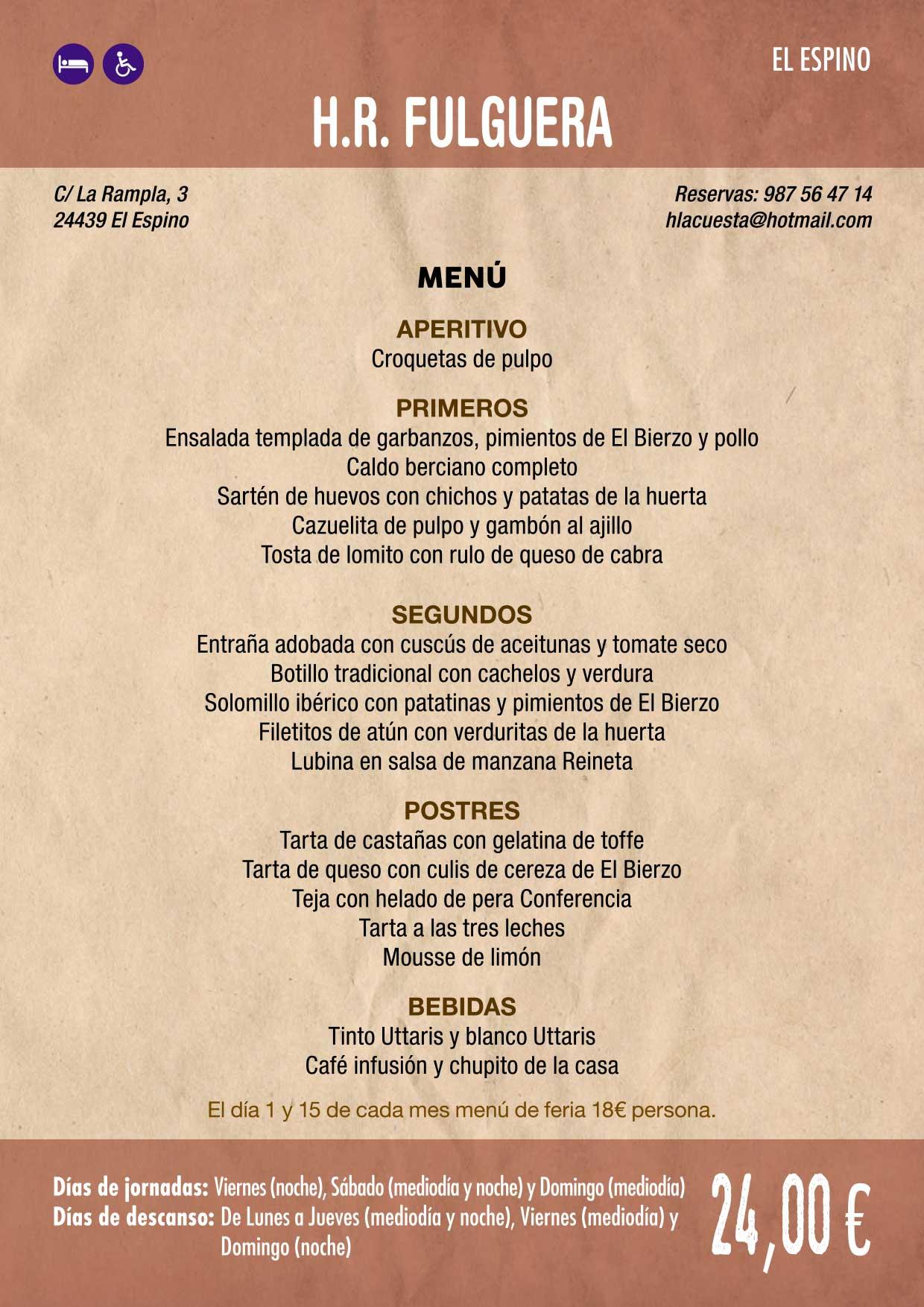 XXXVI Jornadas Gastronómicas De El Bierzo 2020. Consulta los restaurantes y menús 5