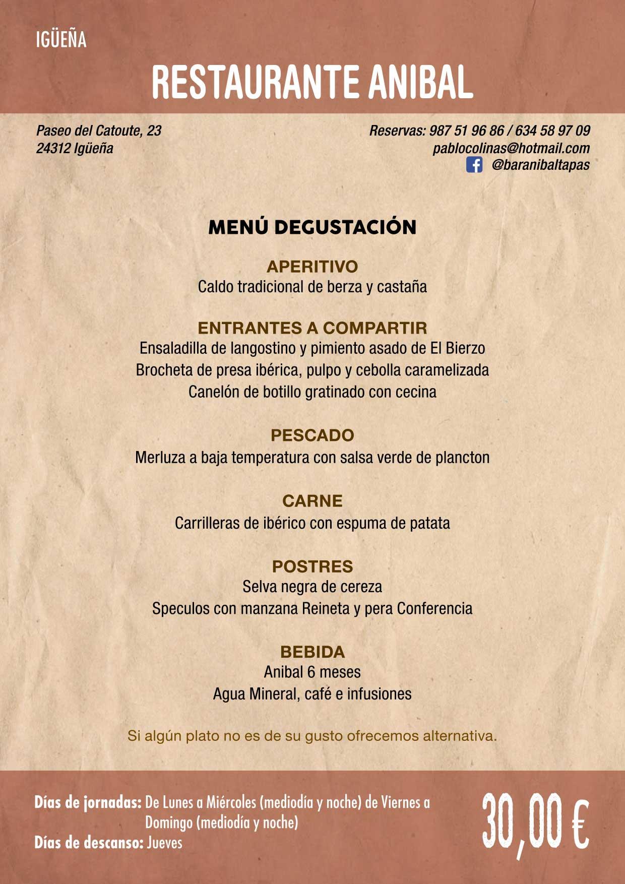 XXXVI Jornadas Gastronómicas De El Bierzo 2020. Consulta los restaurantes y menús 6