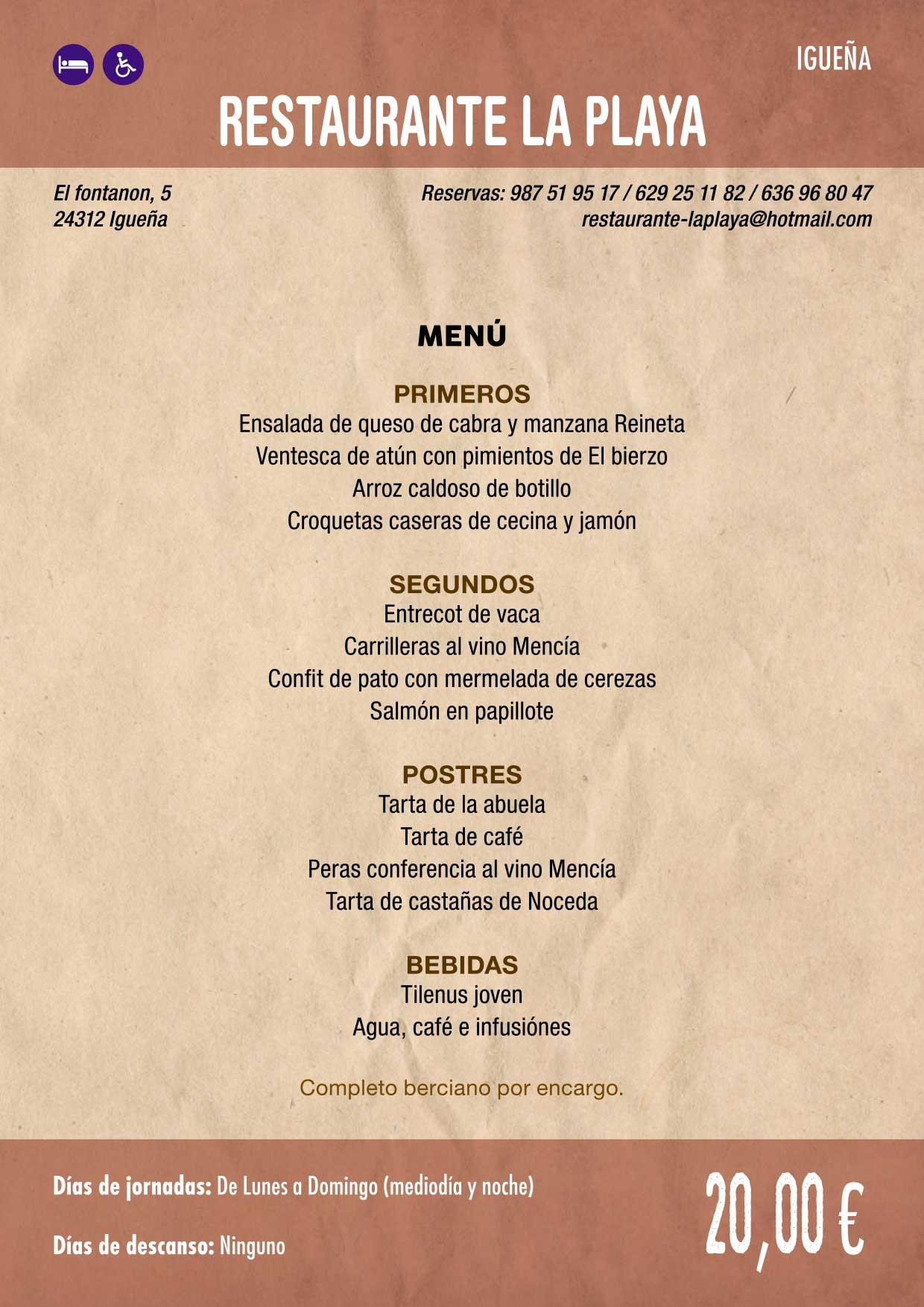 XXXVI Jornadas Gastronómicas De El Bierzo 2020. Consulta los restaurantes y menús 7