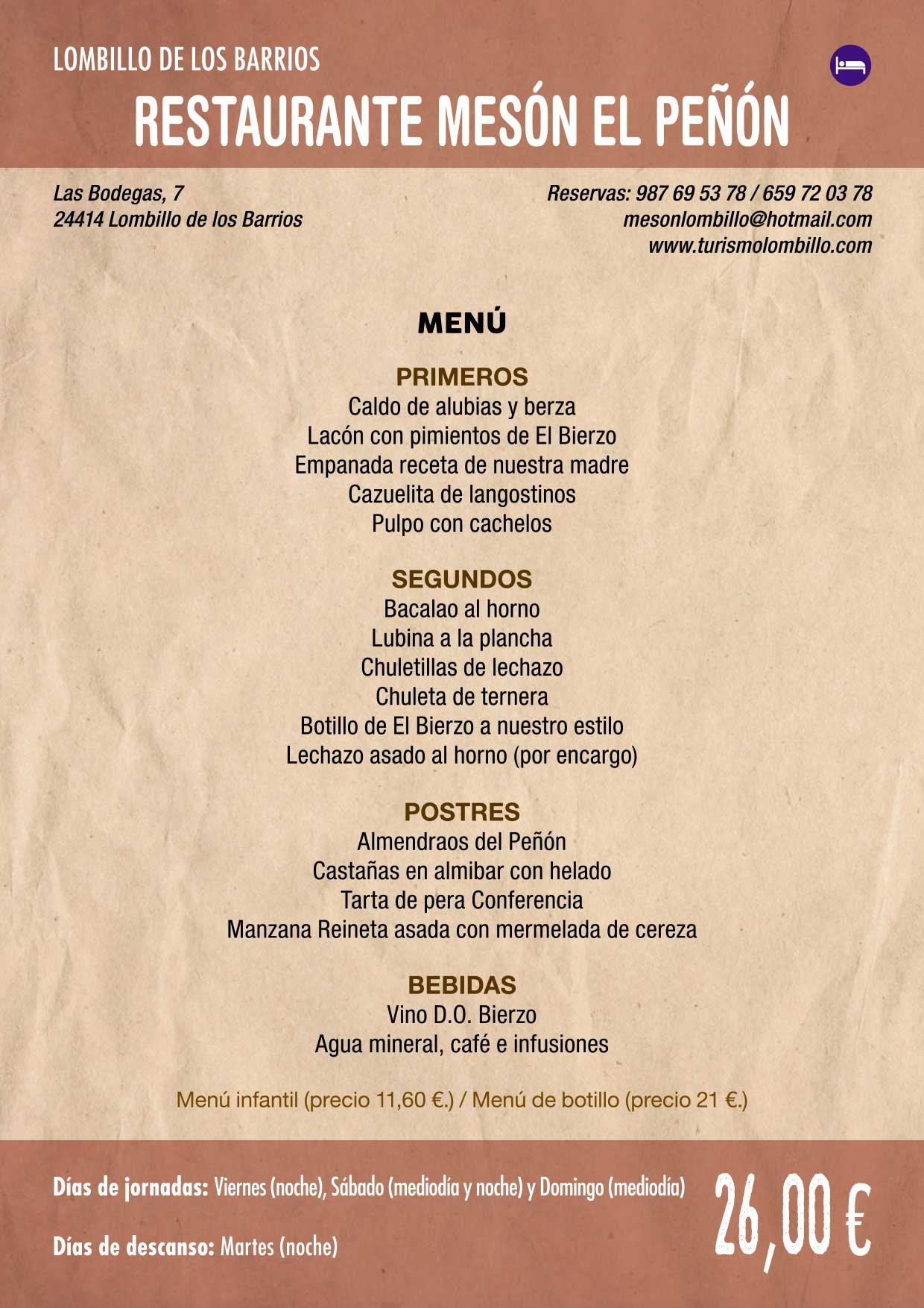 XXXVI Jornadas Gastronómicas De El Bierzo 2020. Consulta los restaurantes y menús 8
