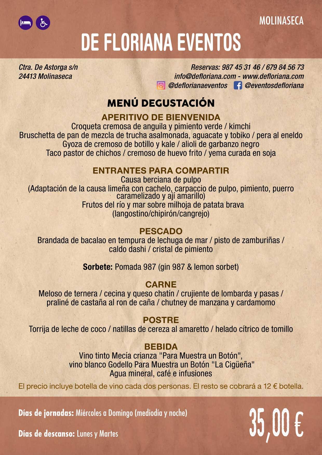XXXVI Jornadas Gastronómicas De El Bierzo 2020. Consulta los restaurantes y menús 9