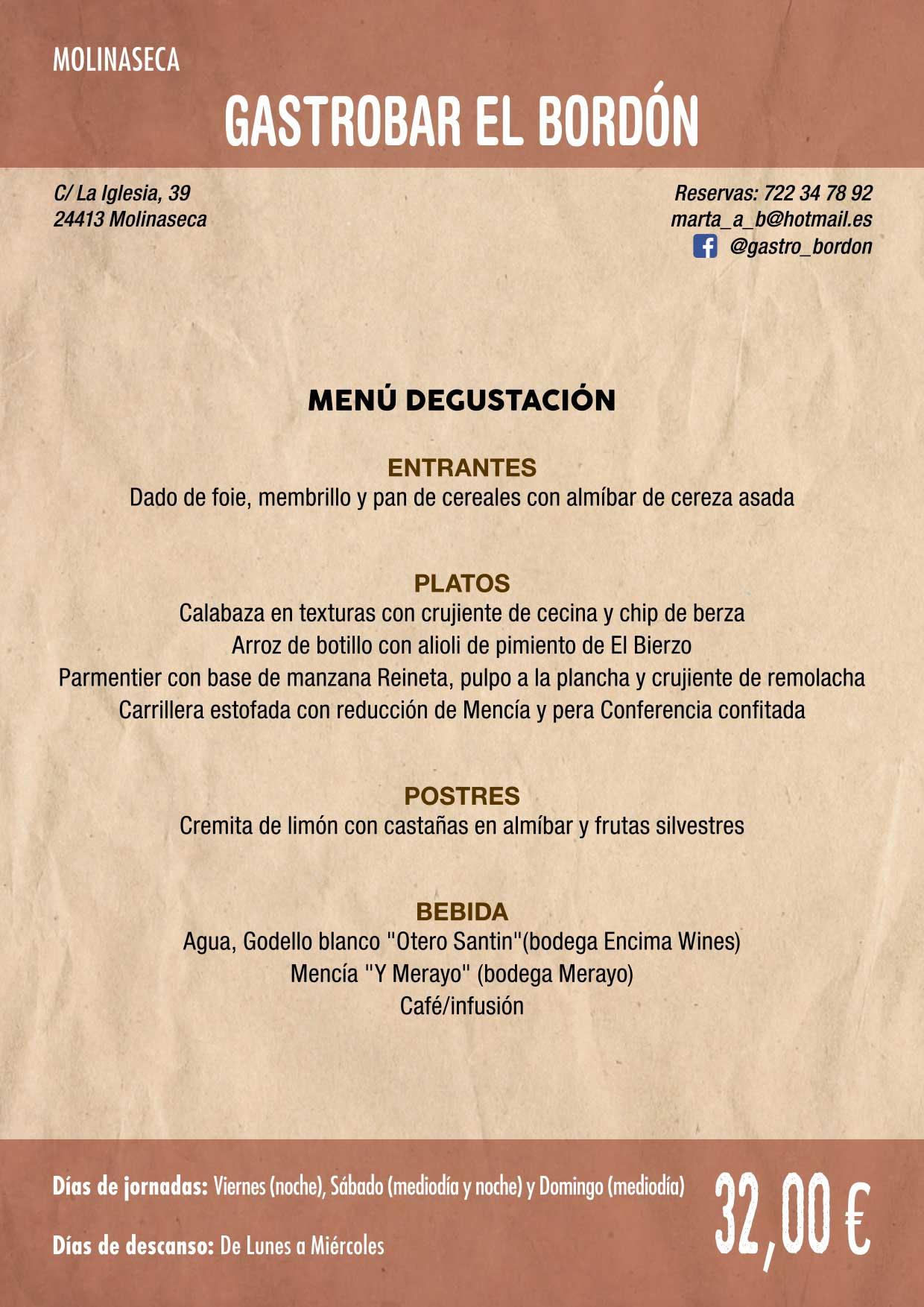 XXXVI Jornadas Gastronómicas De El Bierzo 2020. Consulta los restaurantes y menús 10