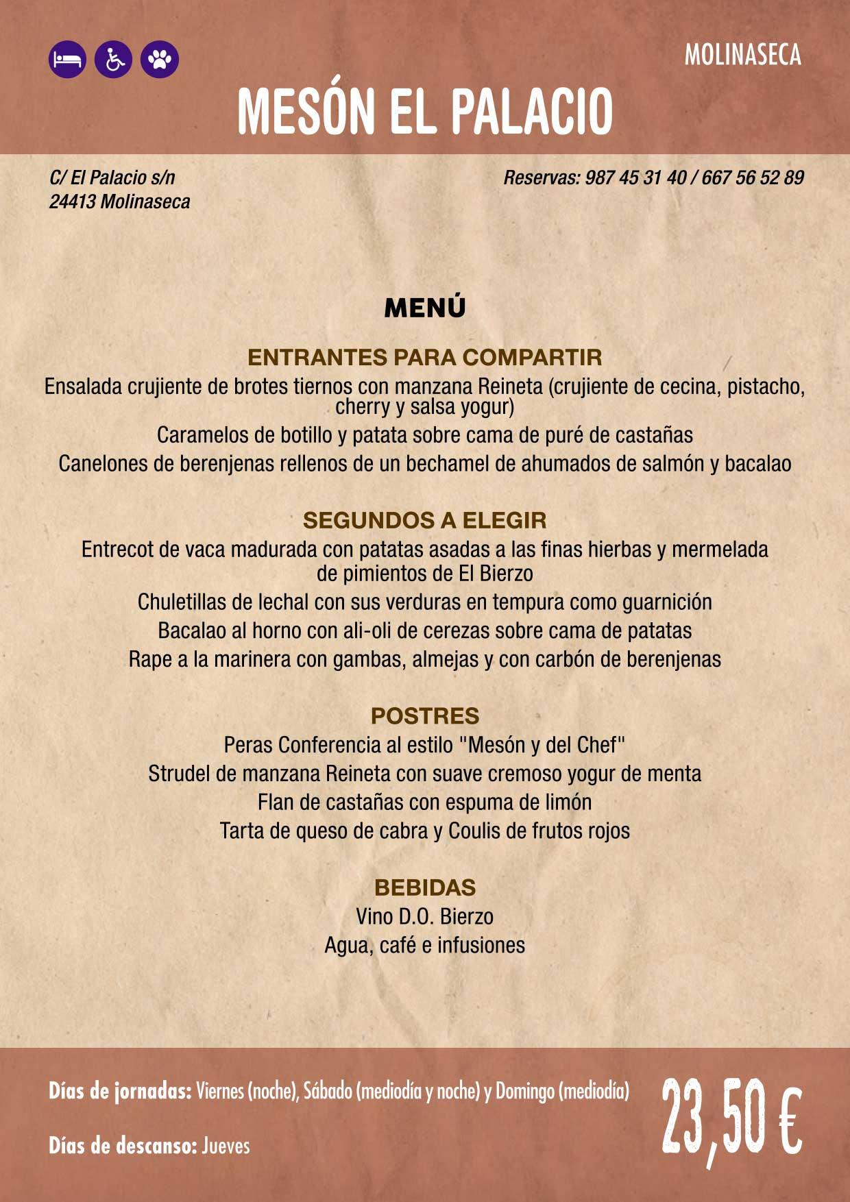 XXXVI Jornadas Gastronómicas De El Bierzo 2020. Consulta los restaurantes y menús 11