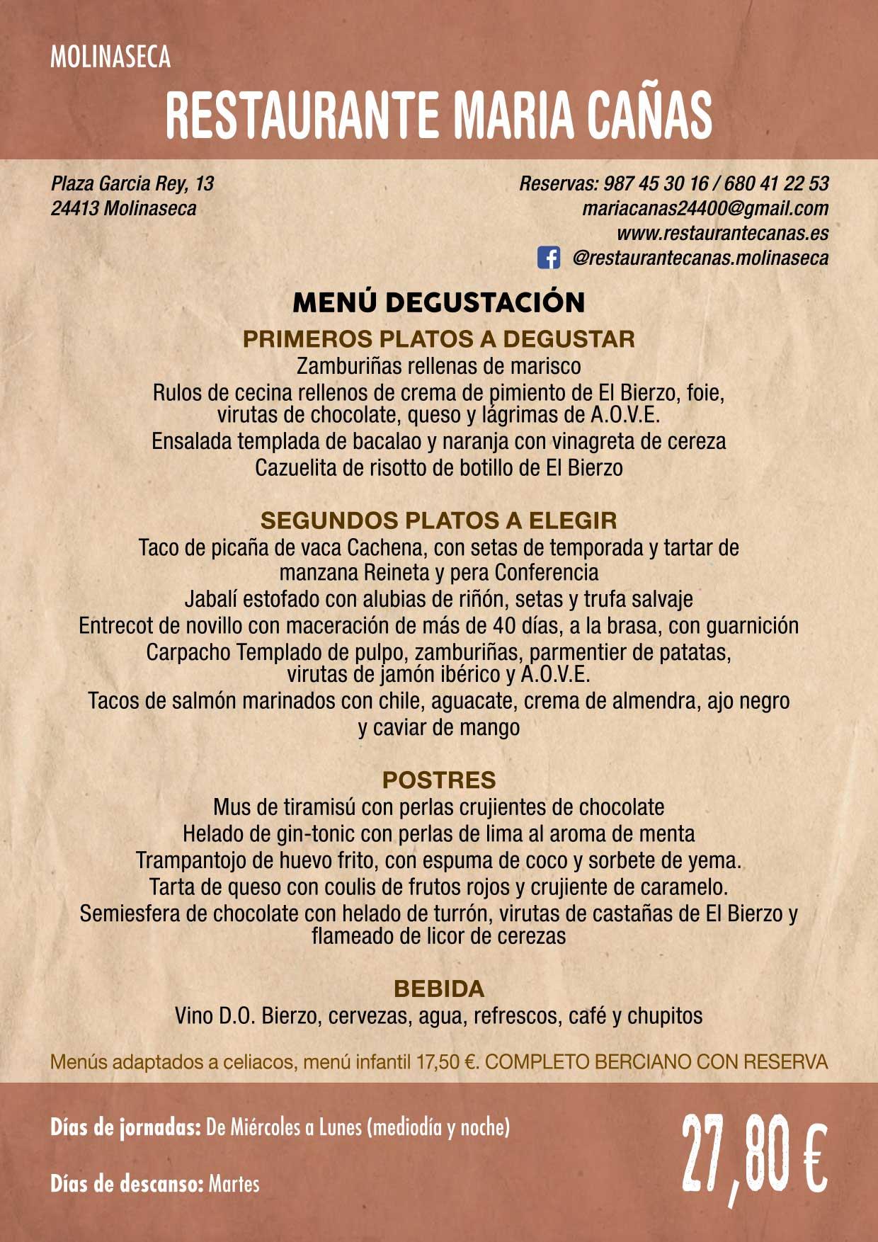 XXXVI Jornadas Gastronómicas De El Bierzo 2020. Consulta los restaurantes y menús 12