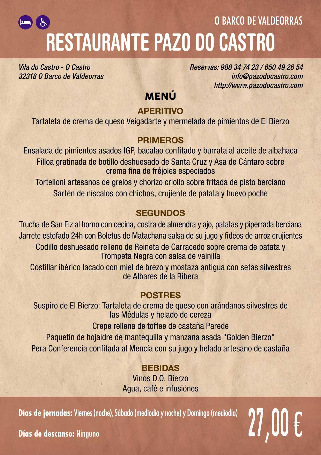 XXXVI Jornadas Gastronómicas De El Bierzo 2020. Consulta los restaurantes y menús 13