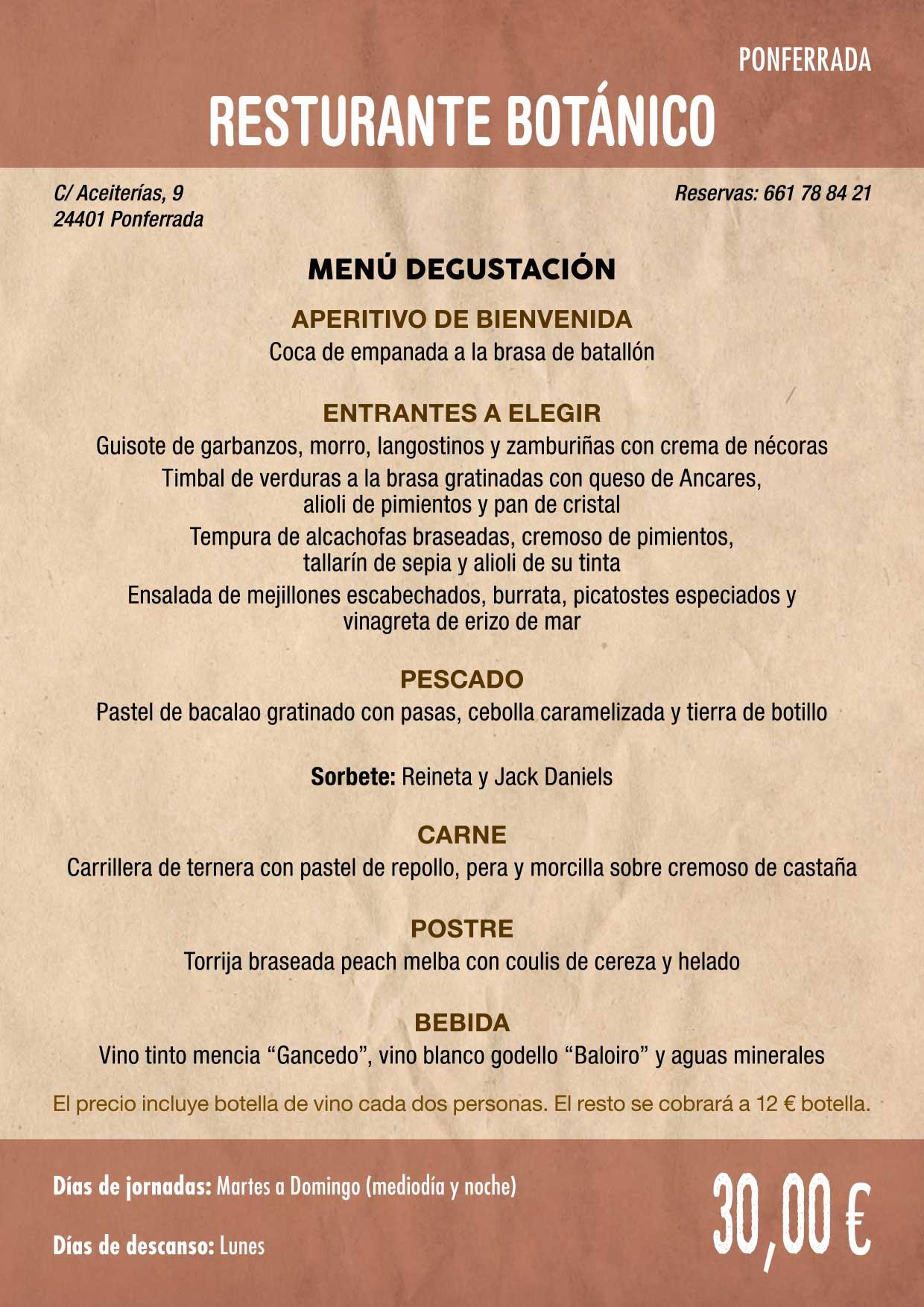 XXXVI Jornadas Gastronómicas De El Bierzo 2020. Consulta los restaurantes y menús 15