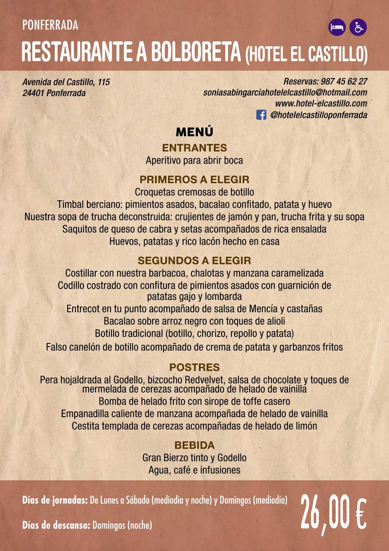 XXXVI Jornadas Gastronómicas De El Bierzo 2020. Consulta los restaurantes y menús 16